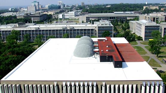 Membrane PVC pour toiture
