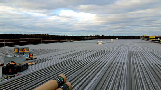 Entretien de toiture métallique