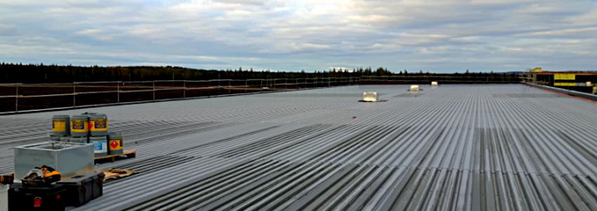 toiture métallique installation
