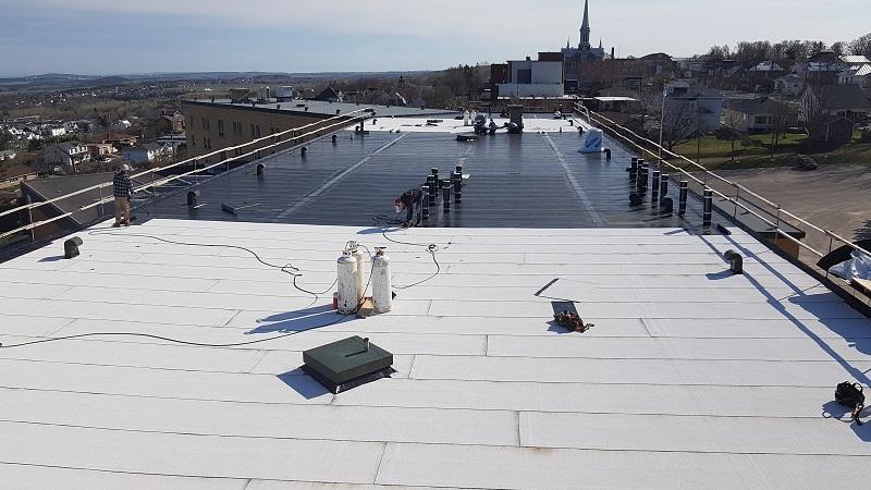 entretien toit plat