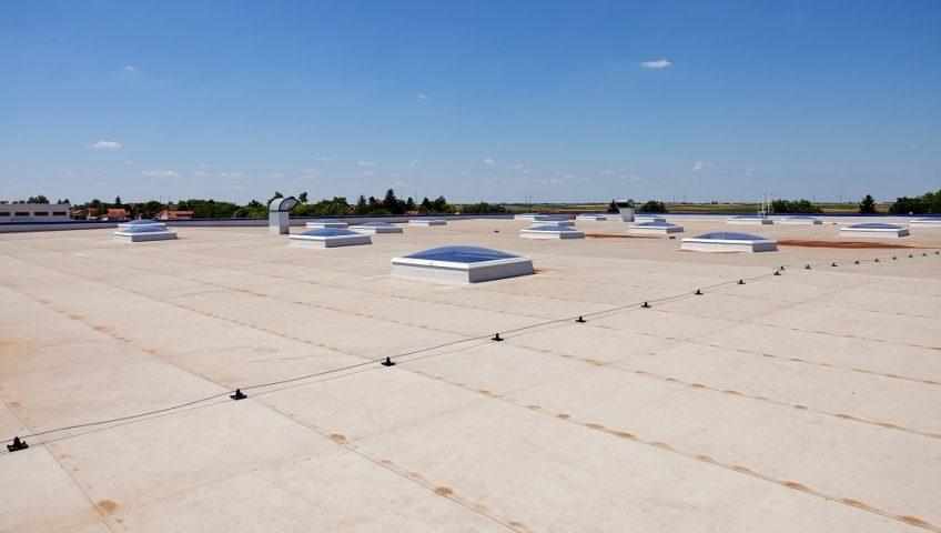 Réparation toiture industrielle