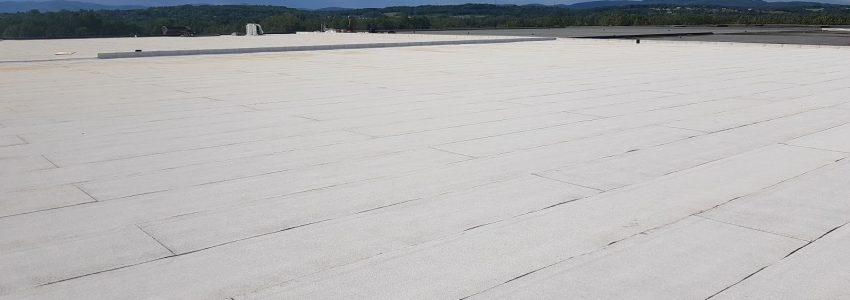 revêtement toit blanc